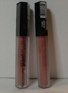 Lot of 2 L.A. Colors Velvet Plush Creamy Lip Color CLC662 Blossom Lipstick