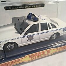 Code 3 Charleston County Sheriff 1/24 Scale Ford Crown Victoria Police Car