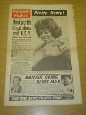MELODY MAKER 1962 OCTOBER 13 JOHNNY DANKWORTH FRANK IFIELD KETTY LESTER +