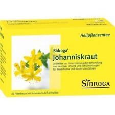 SIDROGA Johanniskraut Tee Filterbeutel 20 St PZN 3018207