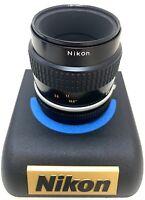 Excellent--- Nikon AI-S Micro Nikkor 55mm F/2.8 Camera Prime Lens Manual Focus