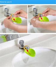 Water Tap Leaf Shape Bathroom Kitchen Sink Faucet Device Extender Washing Sh