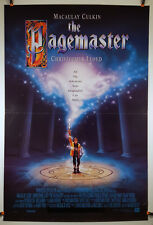 The Pagemaster (Advance) 1994 Original Movie Poster 27x40 Folded, Double-Sided