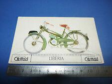 CHROMO 1950-1959 CHOCOLAT CEMOI DECOUPAGE MOTO MOTOCYCLETTE LIBERIA SACHS