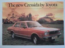 TOYOTA CRESSIDA orig 1979 UK Mkt Sales Brochure - Saloon Estate
