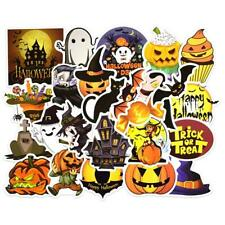 25Pcs Halloween Holiday Stickers Vinyl Decals Lot for Kid Trick Treat Party avo