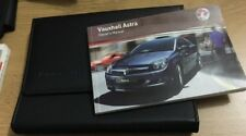 VAUXHALL ASTRA H OWNERS MANUAL HANDBOOK & FOLDER BOOK PACK SET 2004-2010