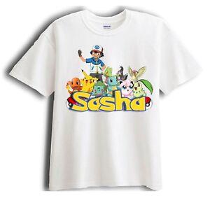 New Personalized Character Pokemon Custom Shirt