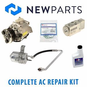 For Ford Five Hundred 2005 Complete AC A/C Repair Kit w/ NEW Compressor & Clutch