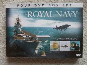 Four Dvd Box Set -  THE ROYAL NAVY -  Brand New & Sealed