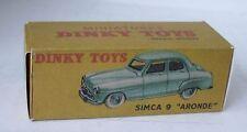 Repro Box Dinky Nr.24U Simca 9 Aronde