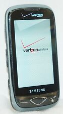 Samsung SCH-U820 Reality Verizon Cell Phone Black side-keyboard touchscreen -B-