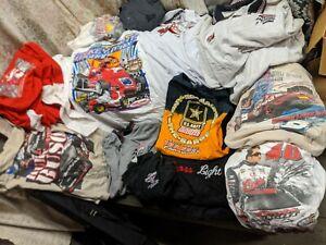 Coors Light Racing Nascar 13 Shirts Lot VHTF Busch Polo Casual Americana XXXL