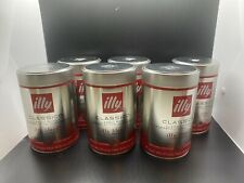 6 X Illy Classico Classic Roast Ground Coffee 100% Arabica 8.8 oz Sealed  2022
