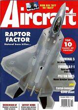 Aircraft Illustrated 2004 October JASDF,Draken,F-22