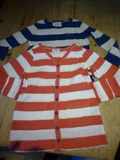 Mini Boden Boys' Striped Long Sleeve Sleeve 100% Cotton T-Shirts & Tops (2-16 Years)