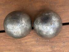 Belle Doublette Boules de P��tanque striées de Compétition  600 Gr