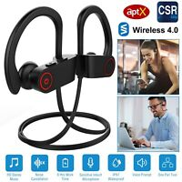 Waterproof  Earbuds Beats Sports Wireless Headphones in Ear Headset US