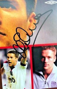 Michael Owen   - Hand signed autograph photo with COA