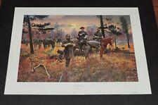 Mort Kunstler -  CONFEDERATE  SUNSET - Civil War Print