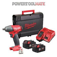 Milwaukee M18FIWF12-502X 18v Friction Ring Impact Wrench - 2x 5.0Ah Batteries