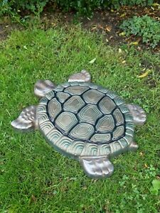 Concrete Turtle stepping stone (Painted)