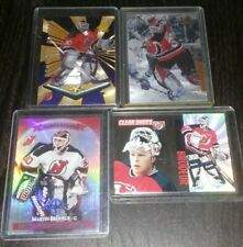 4ct MARTIN BRODEUR Insert Card Lot - New Jersey Devils