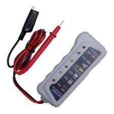 Quality Battery Tester Car Batter / Alternator Monitor Device 12V LED Display