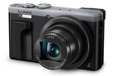 Panasonic Lumix DMC-TZ80 30x Optical Zoom Compact Digital Camera - Silver