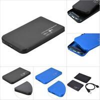 "2.5"" USB3.0/USB2.0 SATA SSD HDD Hard Drive Disk Dock Enclosure Case Station Kit"
