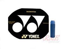 Yonex Badminton Racket Stencil and Blue Stencil Ink