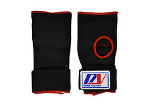 PV Boxing Gel Padded Inner Gloves With Wrist Support Muay Thai Hand Wraps Pair