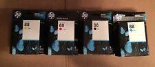 Set of 4 HP 88 C9385AN C9386AN C9387AN C9388AN Ink Cartridge  Brand New.