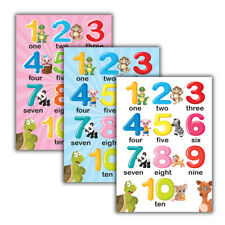Numbers 1 to 10 Posters | Educational Kids Children Classroom School Nursery