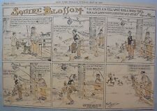 Squire Blossom by Frank Crane from 5/21/1916 Half Page Size Early Country Humor