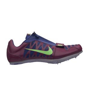 Nike Zoom LJ 4 Purple Long Jump Track Spike Shoes 415339-602 Size 11 US