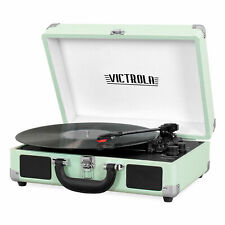 Victrola Portable Suitcase Record Player Turntable With Bluetooth 550BT - MINT