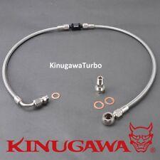 Kinugawa Turbo Oil Feed Line Ford BA BF XR6 FPV F6 w/ Garrett GT3076R GT3582R BB