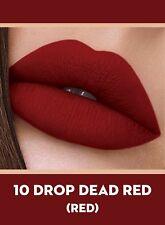 Sugar Cosmetics/Smudge MeNot Liquid Lipstick10 Drop Dead Red (Red)4.5ml (set.2 )