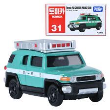 TAKARA TOMY TOMICA 31 Toyota FJ CRUISER POLICE CAR Display Miniature Car