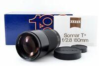 Mint Contax Carl Zeiss Sonnar T* 180mm f2.8 MMJ Manual F Lens from Japan