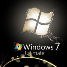 Microsoft Windows 7 Ultimate 32/64-bit Product Key MS Win 7 Genuine License Code