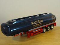 OXFORD DIECAST W.H. MALCOLM GROUP TANKER TRUCK TRAILER MODEL SHL02TK 1:76
