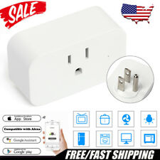 Smart Mini WiFi Plug Outlet Switch work with Echo Alexa Google Home Remote US