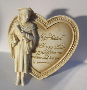 Graduate Graduation Arts In Stone Graduated Heart Shaped Wil Van Gelder  Gift