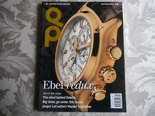 qp watch magazine no 21 iwc Portuguese Hamilton ebel