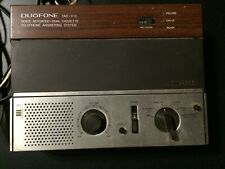 Vintage Radio Shack Duofone TAD-111C Dual Cassette Telephone Answering System