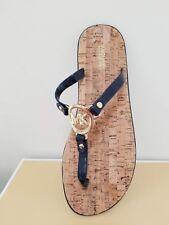 MICHAEL Michael Kors Women's MK Charm Jelly Flat Sandal Size 7 NIB