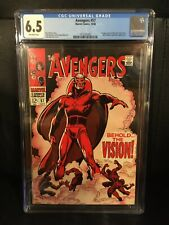 Avengers #57 CGC 6.5 First Appearance Silver Age Vision 1968 Marvel Comics