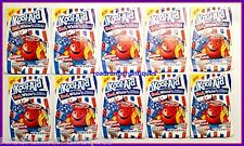 10 Kool-Aid Red White n Blue unsweetened Drink Mix Extremely Rare Collectible